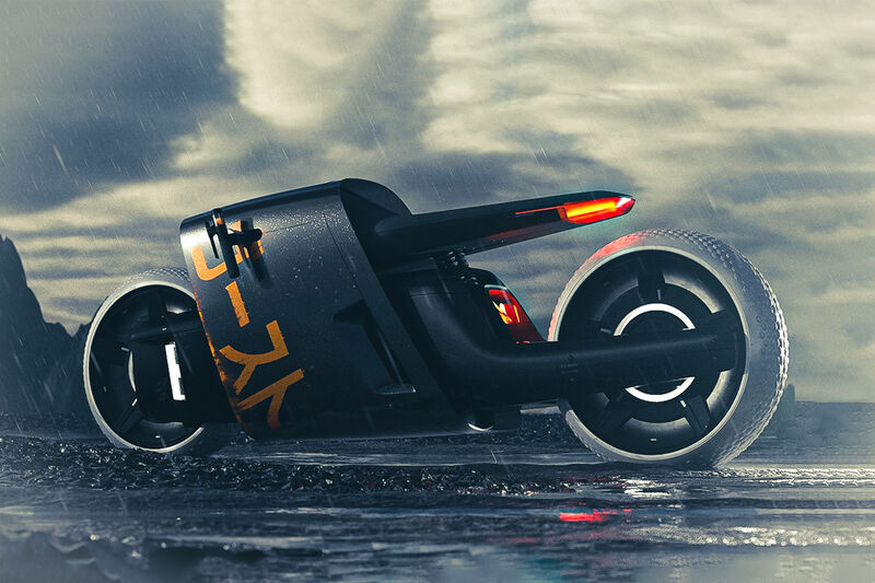 Demurely Modern Motorcycles