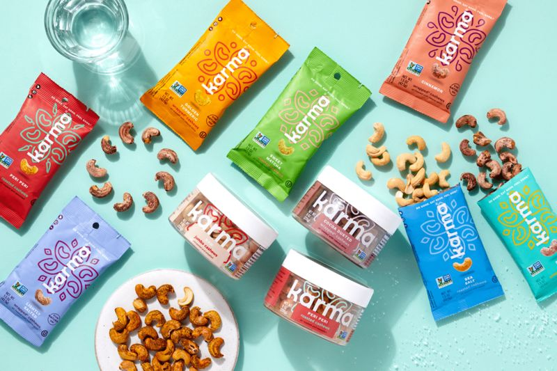 Antioxidant-Packed Nut Snacks