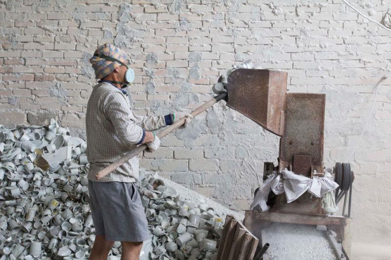 Ceramic Waste Furniture