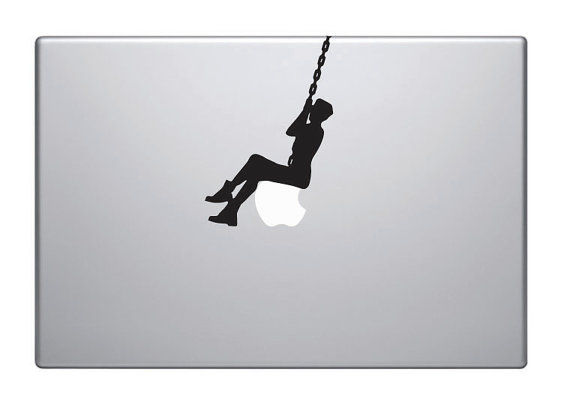 Suggestive Video Laptop Stickers