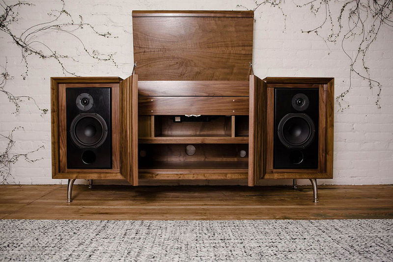 Modernized Vinyl Cabinets