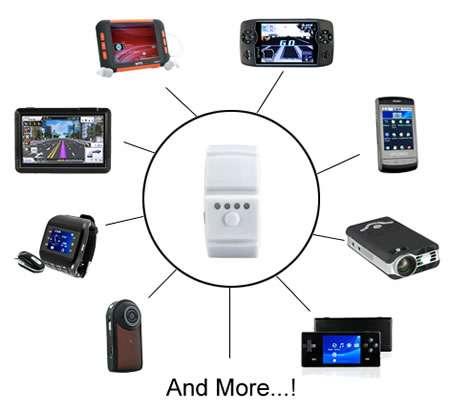Gadget-Charging Bracelets