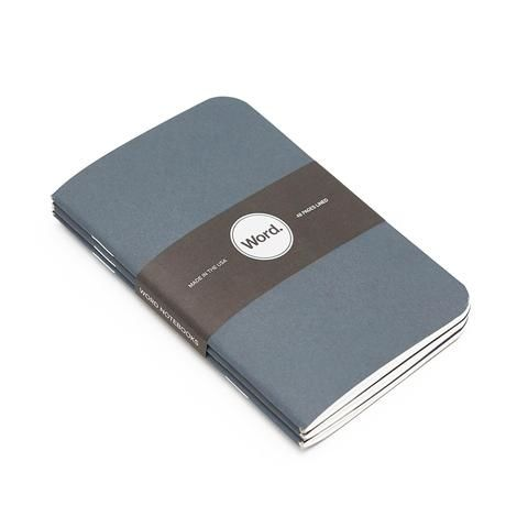 Denim-Patterned Notebooks