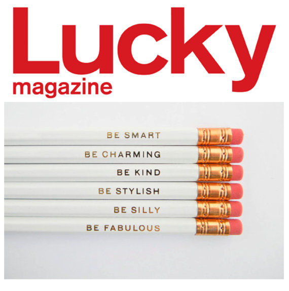 Inspirational Quote Pencils