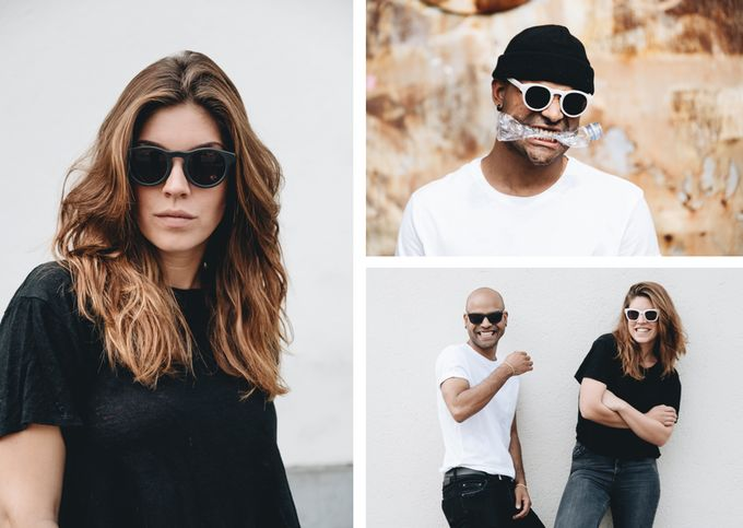 Upcycled 3D-Printed Sunglasses