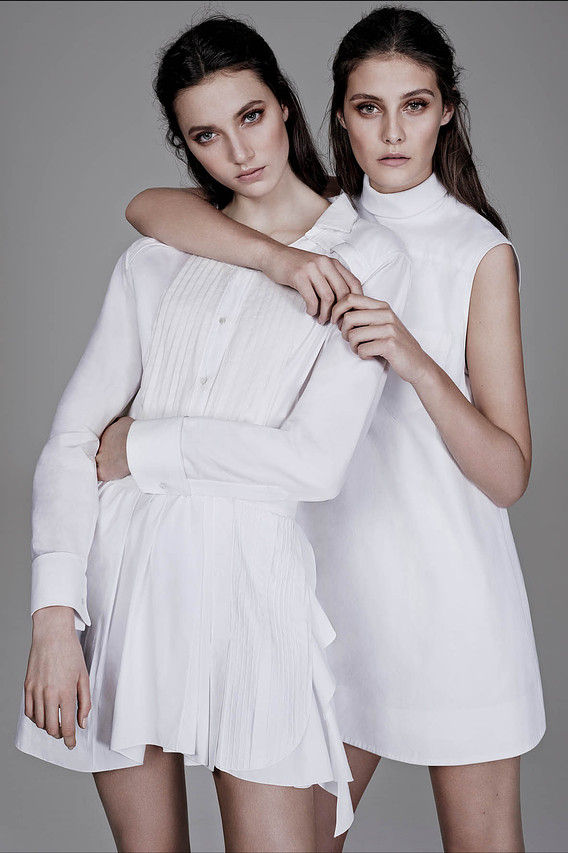 Creepily Perfect Twin Editorials