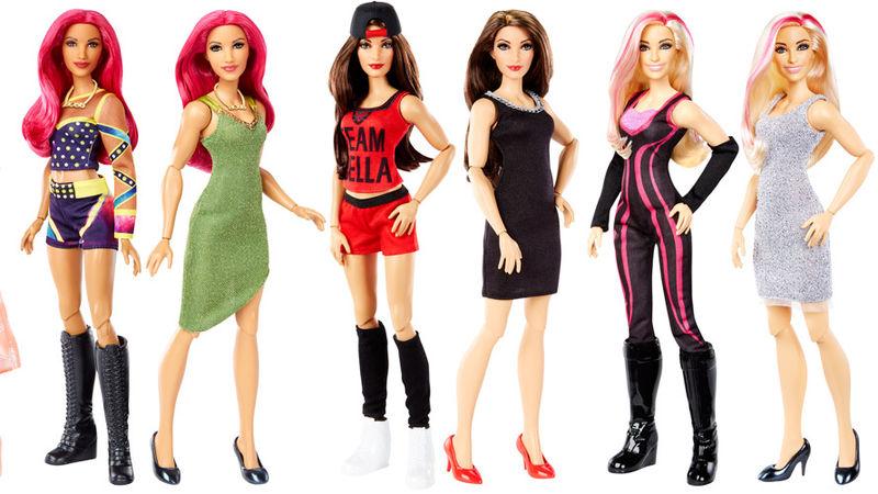 Professional Wrestler Dolls