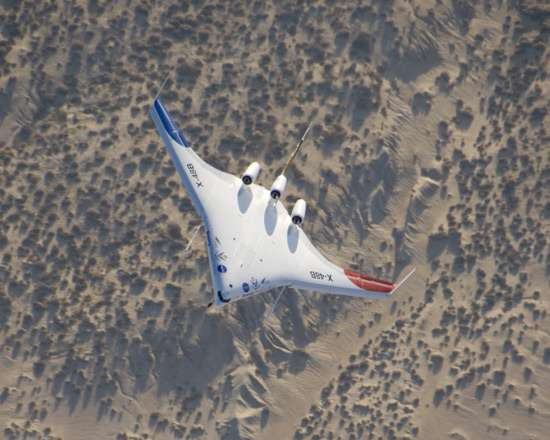 NASA's Experimental Air Crafts