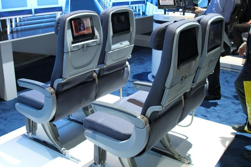 High-Tech Airline Seats