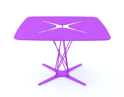 Sleek One-Piece Tables