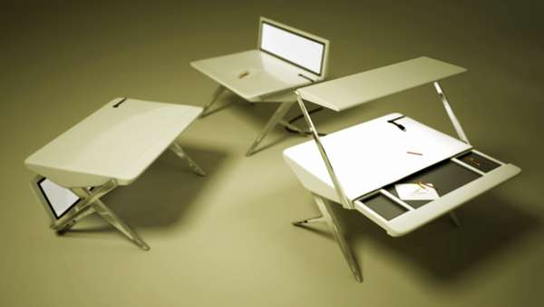 Dextrous Unhinged Desks