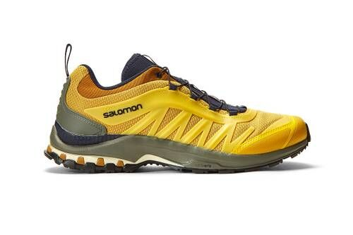 Vibrant Sporty Trail Sneakers