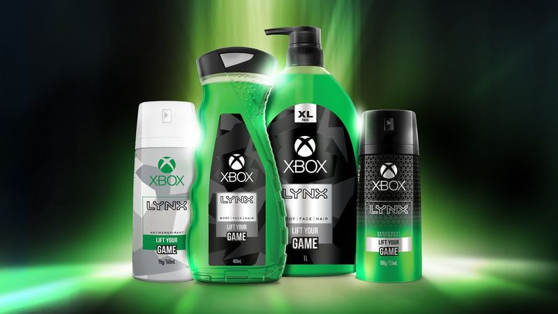 Console-Themed Body Wash
