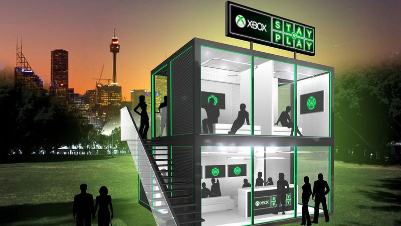 Gamer Pop-Up Hotels