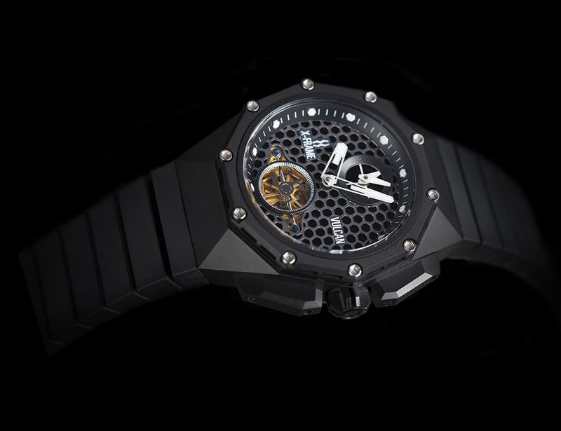 Geometrically Etched Watches