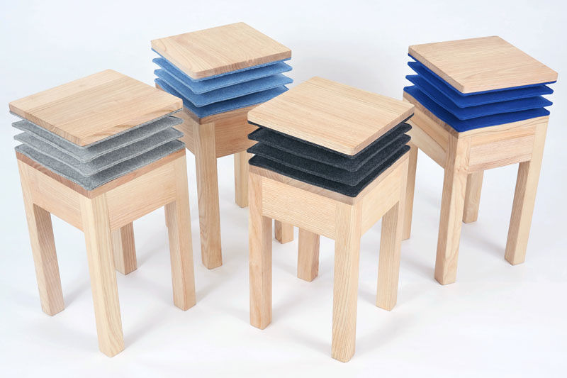 Music-Playing Stools