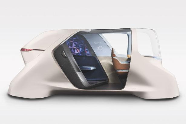 Autonomous Rideshare Vehicle Concepts