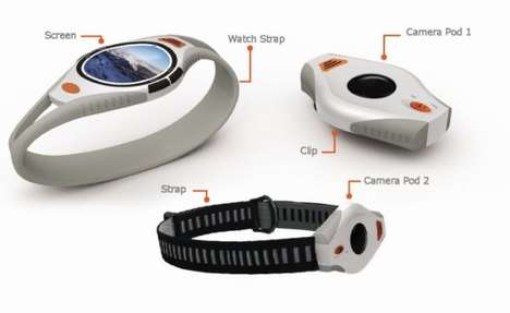 Wrist-Mounted Sport Cams