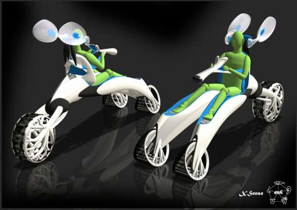 Bug-Eyed Transport Trikes