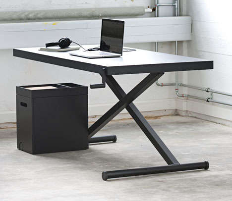 Ironing Board-Like Desks