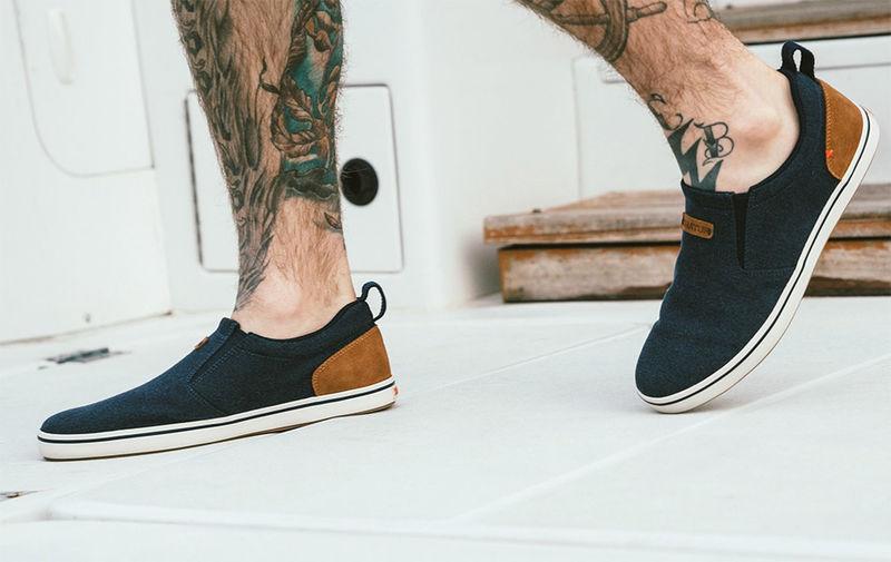 Aquatic-Friendly Slip-on Shoes - The XTRATUF Sharkbyte Deck Shoe Has a Breathable Construction (TrendHunter.com)