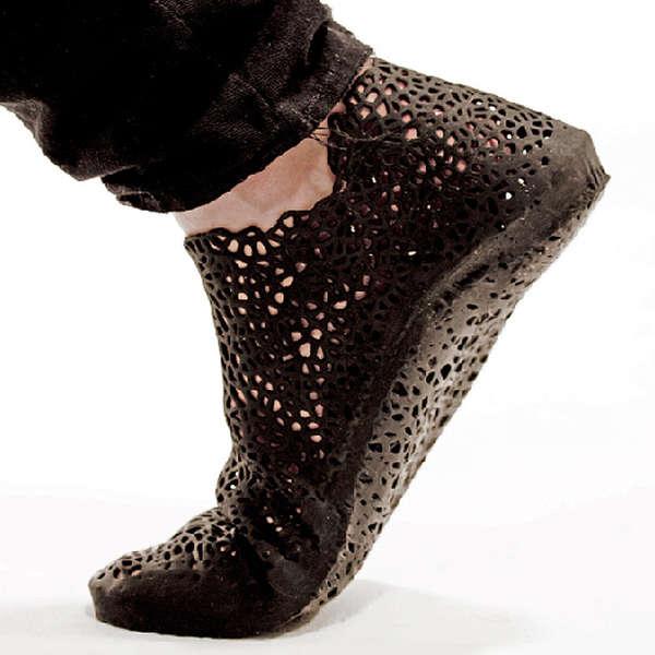 Printed Pliable Footwear