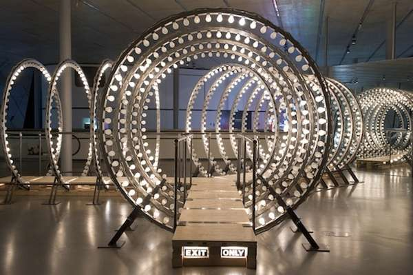 Portral Like Light Installations Y By Carsten Holler