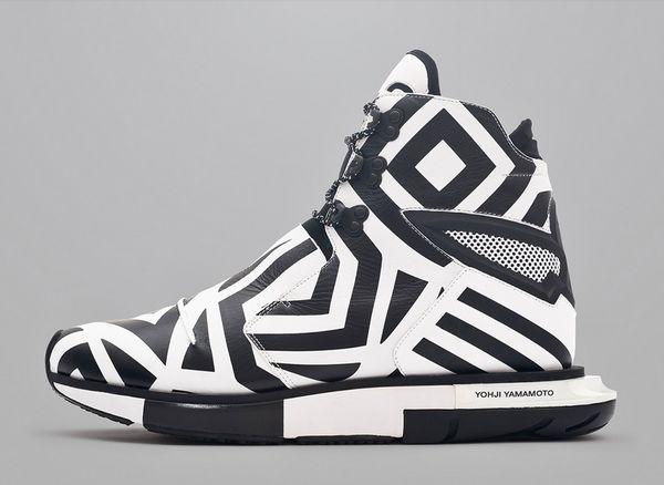 Funky Monochromatic Footwear