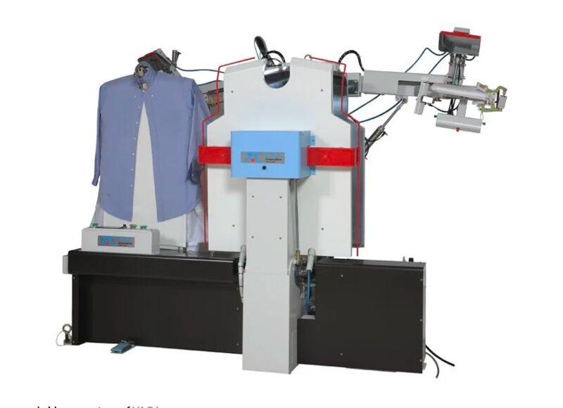 Robotic Rapid Ironing Machines
