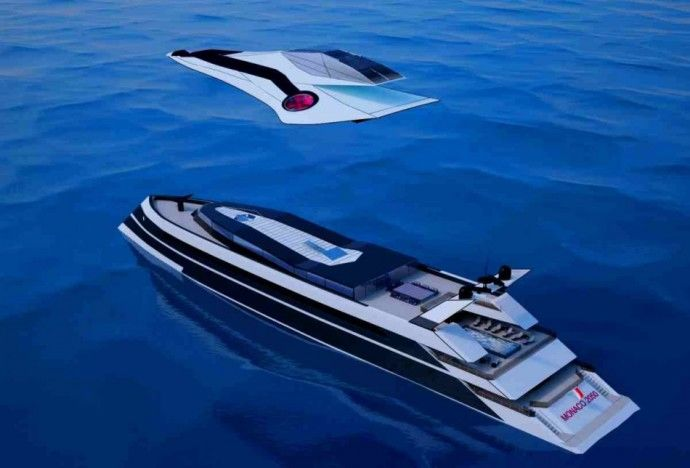 Flying Yacht Hybrids