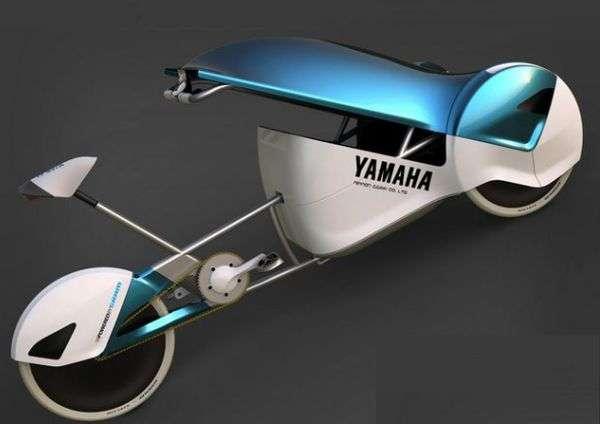 Futuristic Danish Tricycles