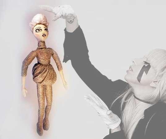 Gagafied Fabric Figurines
