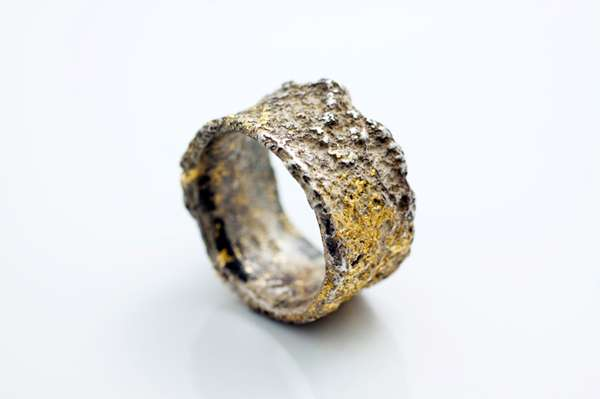 wedding rustic bespoke gold prod edinburgh ring organic yellow unusual ourshop rings