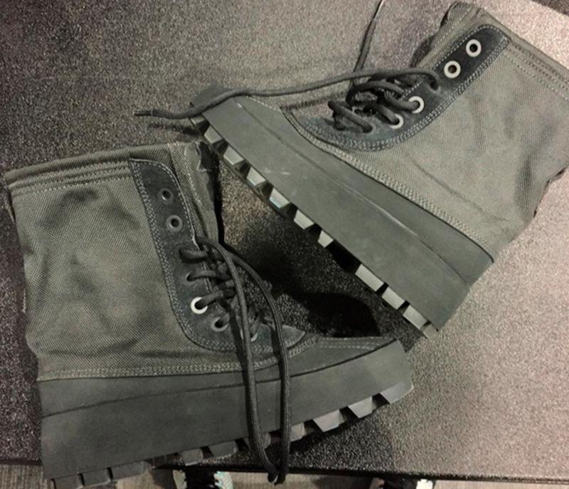 Rapper-Designed Boots