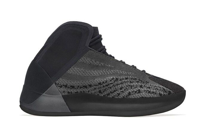 Stealthy Knit High-Top Shoes