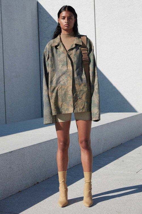 Militaristic Rapper Fashion
