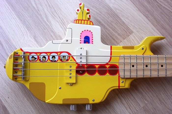 Band-Inspired Bass Guitars