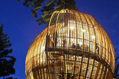 Caged Treehouse Restaurants