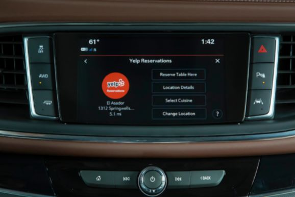 In-Car Reservation Apps