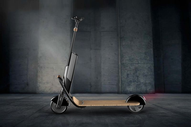 Electrified Organic Material Scooters