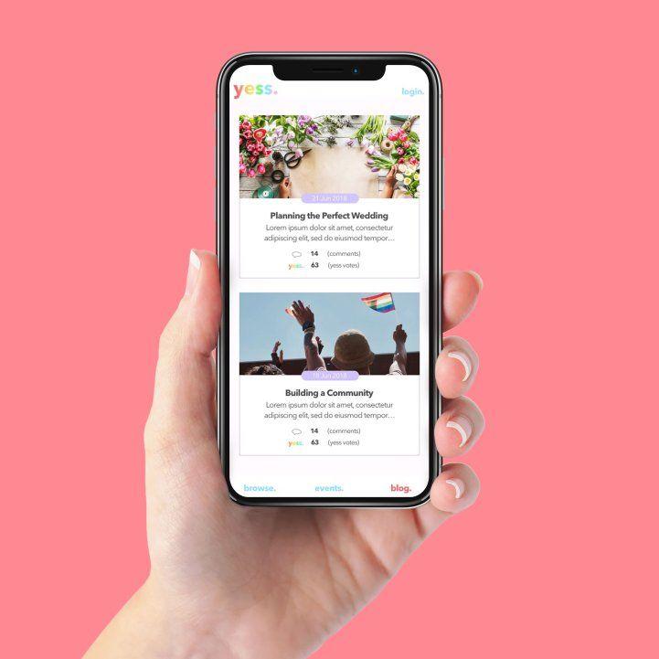 LGBTQ+ Wedding Service Apps
