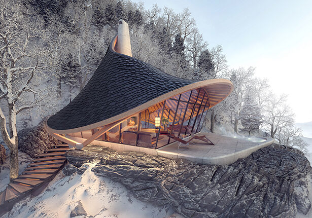 Japanese Landscape-Suited Cabins