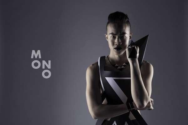 Futuristic Paper Fashions