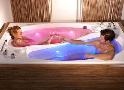 Dual-Bather Bathtubs