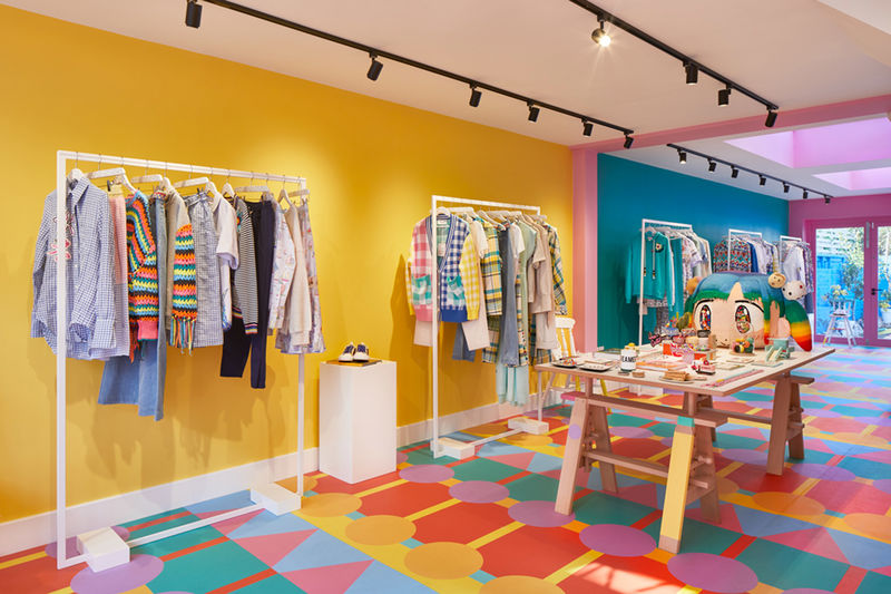 Ultra-Colorful Retail Spaces