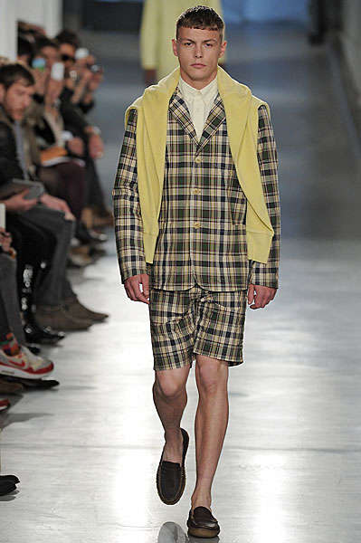 Multi-Patterned Male Fashion
