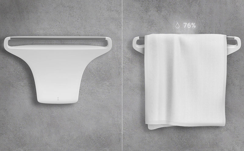 Moisture-Wicking Towel Racks
