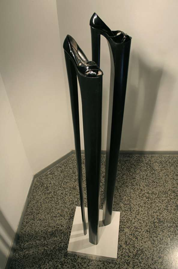 Endless High Heel Sculptures