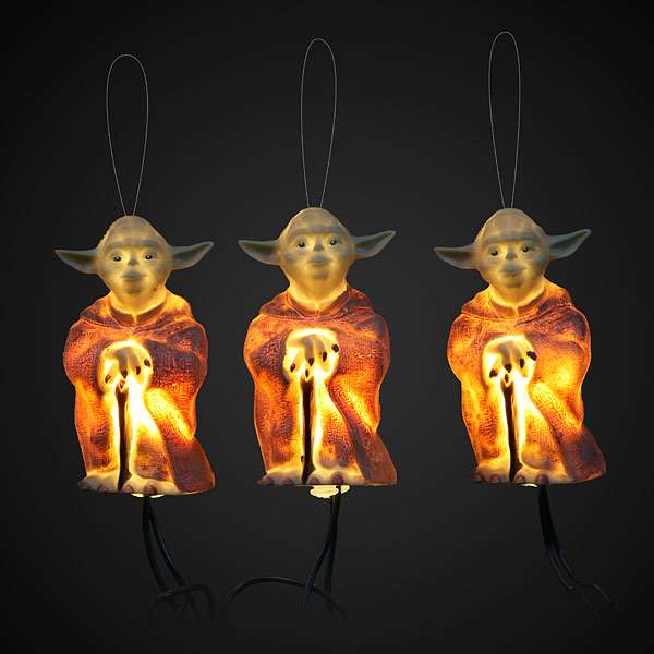 Jedi Master Seasonal Decor