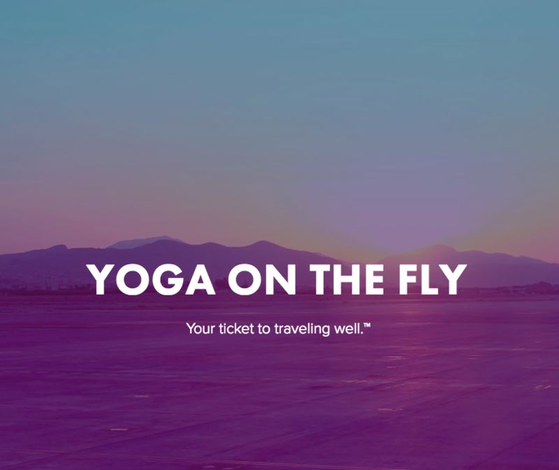 In-Airport Yoga Studios